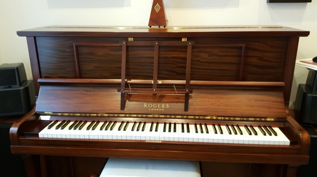 george rogers upright piano in east ardsley west yorkshire gumtree. Black Bedroom Furniture Sets. Home Design Ideas