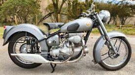 Sunbeam S8 - 1949 Classic British Motorbike - Historic Motorcycle (not S7) bike