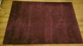 Purple HIGH PILE RUG EXCELLENT CONDITION