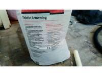 FREE - 25kg bag of browning plaster