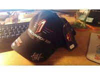 2011 F1 champ Sebastian Vettel cap & Lanyard