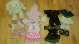 Builder Bear Clothes Bundle Plus Builder Bear Rabbit