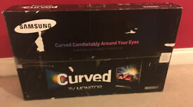 """SAMSUNG **CURVED** 27"""" LED TV/Monitor -1080p - Freeview - Warranty"""