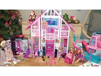 Barbie doll house bundle
