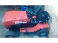 compact garden tractor for sale winter project. not. stihl strimmer lawnmower chainsaw