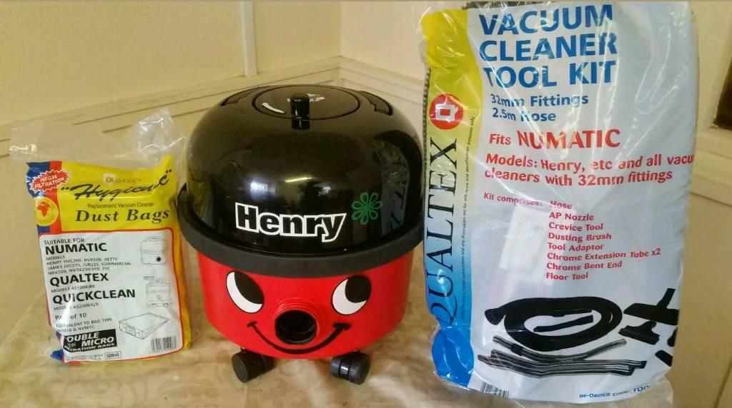 Henry Hoover vacuum cleaner fully refurbished