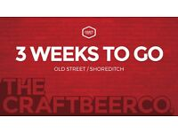 Old Street/Shoreditch Exciting New Pub seeks Assistant Manager