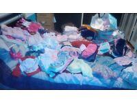Bundle of girls clothes (Newborn/ 0-3, 3-6, 6-9, 9-12 & 12-18 Months)