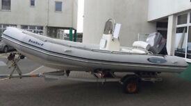 Boat Trailer: Snipe Roller Road Boat Trailer 1400kg