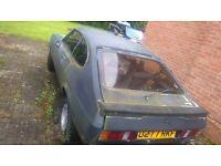 1986 mk3 ford capri for spares or repair