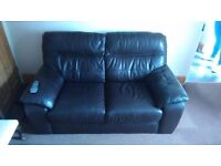 FREE 2 SEATER LEATHER SOFA - MUST GO BEFORE 29TH JUNE!!