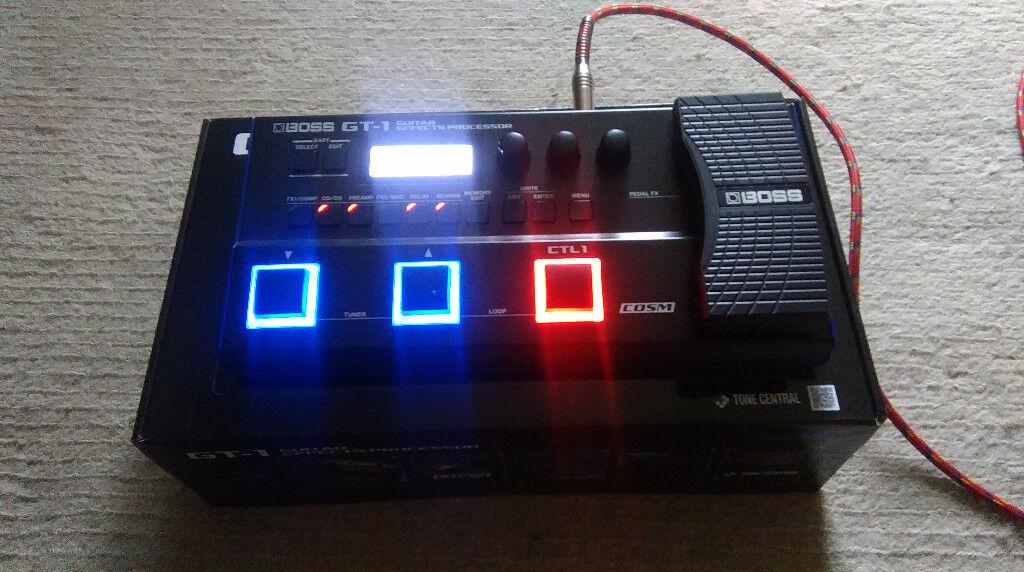 ... Guitar Multi Effects Boss GT-1 (3) ...