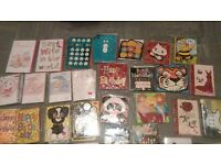 276 greeting cards and 1 FREE CARD STAND