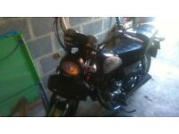 huoniao 125-8 sale or swap motorbike trailer