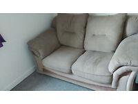 Brown,cosy sofa