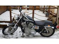 Harley Davidson Anniversary Sportster for sale swap px