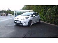 2012 Ford Fiesta Zetec s tdci 1.6 white (not leon focus polo golf vw seat clio)