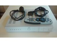 SKY+ BOX, with Remote, power cable and scart cable