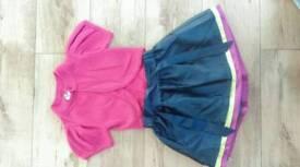 Girls Ted Baker Skirt & Butterfly Bolero