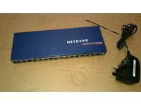 Netgear Prosafe GS116v2 Gigabit Desktop Switch *16 port