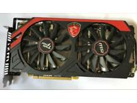 MSI R9 280X 3GB Gaming Graphics Card