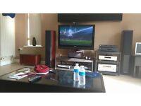 Home Cinema System - Pioneer TV , Amplifier, DVD - Mission Speakers