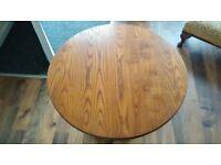 Oak Side Table / Coffee Table