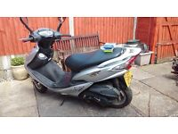 Sym vs 125 moped reliable work comuter. Selling cause have bought a newer one. Fantastic fun moped.