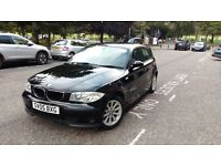 Black BMW 116 1 Series. Superb, reasonably priced car, please come see for yourself.