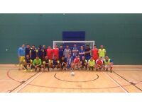 Decent Football / Futsal / 5 -a-side Players Urgently Required For Tuesday Night Futsal League