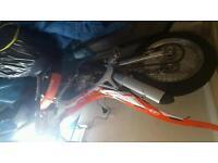 Trial bike swap
