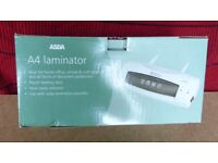 A4 Laminator with 2 packs of lamination pouches
