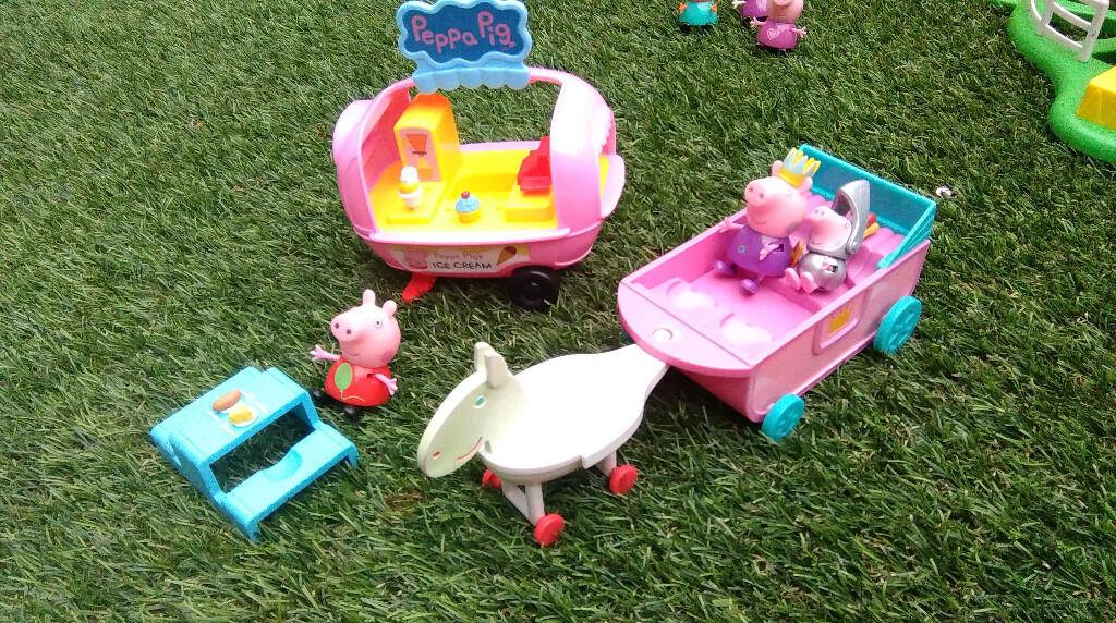 Peppa pig figures & bundle