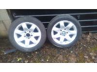 2 BMW Wheels 1 Tyre