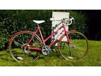 Beautiful vintage racing bike for ladies - English women's road bike - excellent condition