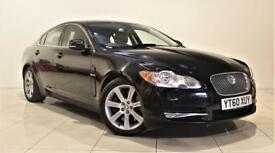 JAGUAR XF 3.0 V6 LUXURY 4d AUTO 240 BHP + 1 PREVIOUS OWNER F (black) 2010