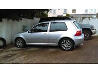 VW Golf 1.6 breaking for spares, all parts available, phone or text for more info