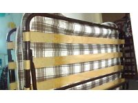 pull down z bed 4' queen bed great for guests