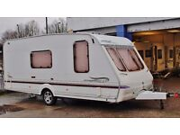 2003/04 SWIFT BRIDGEMERE CHARISMA 565, 4 BERTH, END BATHROOM & AWNING, CRiS DOC/CHECK - EXTRAS!