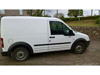 Ford transit connect 2007 low mileage and good condition