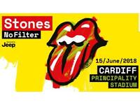 2 x Rolling Stones tickets - General Admission