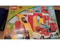 Lego Duplo Light & Sound Fire Station Set. 6168. Boxed, Complete with instructions