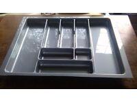 Silver Cutlery Tray
