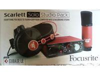Scarlett Solo studio Pack