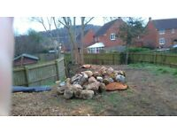 Stones for walls or rockeries