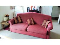2 Matching 3 Seater Settees