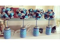 Topiaries Wedding, Christening, Party Table decoration