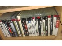 PlayStation 3 slim + 26 games and 2 controllers