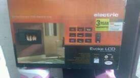 EVOKE LCD PLASMA FIRE WITH LED