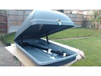 Car Roof Box With Universel Bars